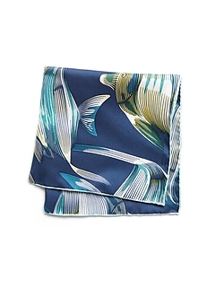 Angelfish Silk Pocket Square