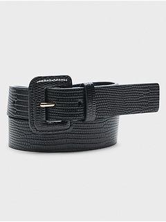 Square-Buckle Belt