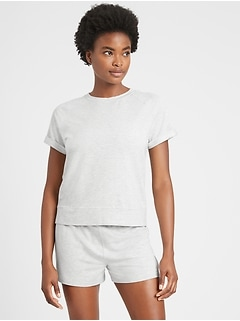 Baby Terry Short-Sleeve Top