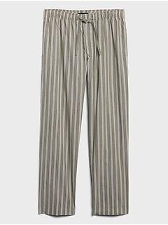 Poplin Pajama Pant