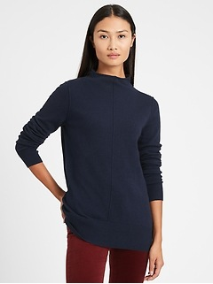 Italian Wool-Blend Sweater Tunic