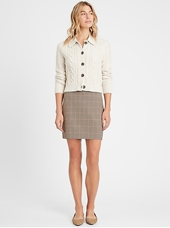 Plaid Sloan Mini Skirt