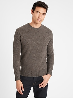 Heritage Recycled Cashmere Crew-Neck Sweater