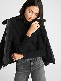 Relaxed Ribbed Sweater