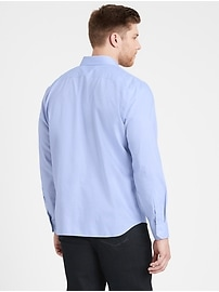 Untucked Slim-Fit Non-Iron Dress Shirt