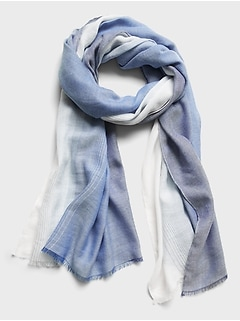 Ombré Layering Scarf