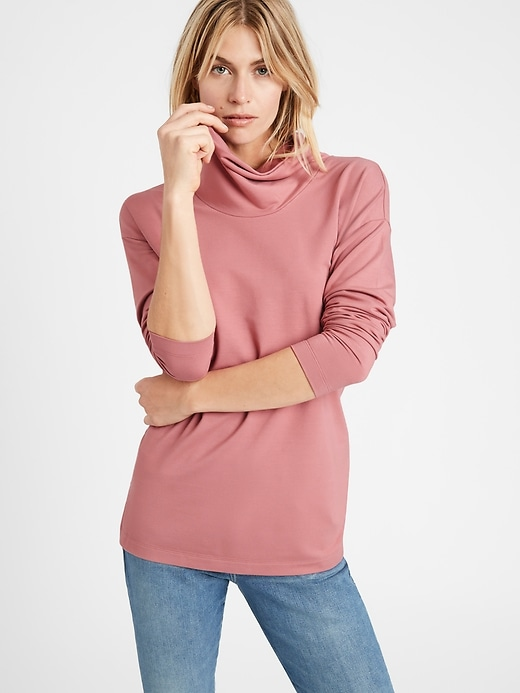 Banana Republic Baby Terry Cowl Neck Sweatshirt