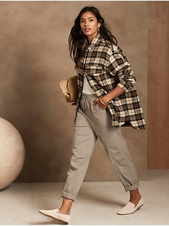 Straight-Fit Ankle Pant